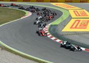 GP Hiszpanii 2015 - wy�cig