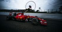 Ferrari zbudowane post�pem w GP Japonii
