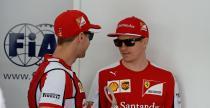 Raikkonen nie wolniejszy ni� Vettel
