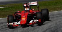 GP Malezji - wy�cig: Vettel ogra� Hamiltona i odni�s� pierwsze zwyci�stwo w Ferrari