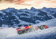 Bolid F1 w Alpach