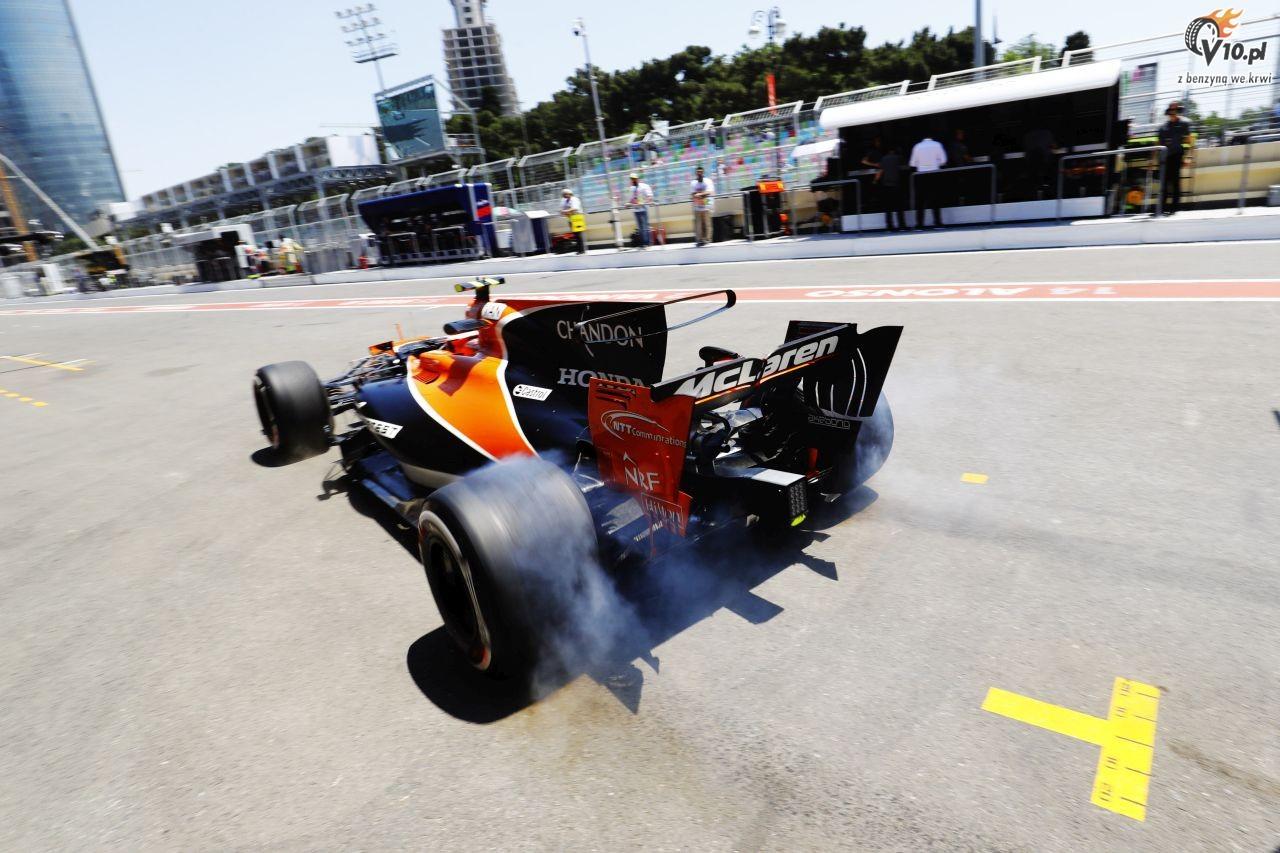 Pirelli poda�o opony na GP Azerbejd�anu