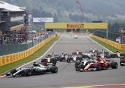 GP Belgii 2017 - wyścig
