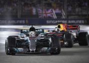 GP Singapuru 2017 - wyścig