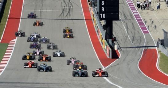 Liczba wyprzedzań w F1 spadła o prawie połowę