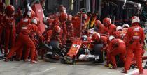 Awaria opony w bolidzie Raikkonena podczas GP Wielkiej Brytanii spowodowana przez zewnętrzny czynnik