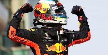 Wideo: Sześć szalonych zwycięstw Daniela Ricciardo w F1