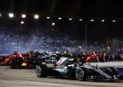 GP Singapuru 2018 - wyścig