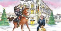 Ecclestone rozes�a� kartk� �wi�teczn� ze swoim procesem o korupcj�