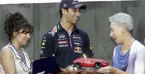 Ricciardo odebra� nagrod� im. Lorenzo Bandiniego