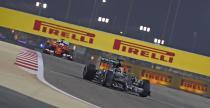GP Bahrajnu 2015 - ustawienie na starcie wy�cigu