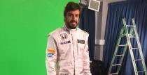 Zdj�cie dnia: Alonso w kombinezonie McLaren-Honda