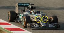 Mercedes i Ferrari przechytrzy�y FIA z mocowaniem kamer przy nosie bolidu