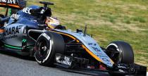 II testy F1 w Barcelonie: Debiut nowego bolidu Force India