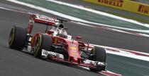 GP Meksyku - 2. trening: Vettel wyprzedzi� Hamiltona