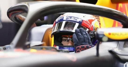 Osłona na kokpit w F1 z wyświetlaczem?