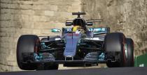 GP Azerbejdżanu - kwalifikacje: Hamilton i Mercedes poza zasięgiem