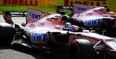 Sergio Perez i Esteban Ocon