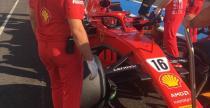 Leclerc już przesiadł się do Ferrari