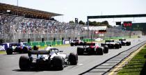 GP Australii 2018 - ustawienie na starcie wyścigu
