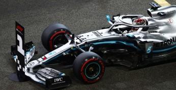 GP Abu Zabi - wyścig: Hamilton pieczętuje mistrzostwo świata...