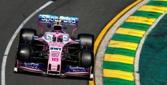 Racing Point zapowiada poprawki do bolidu w każdym wyścigu