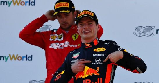 GP Austrii - wyścig: Verstappen znów najlepszy na Red Bull Ringu. Wygrał wielki pojedynek z Leclerkiem