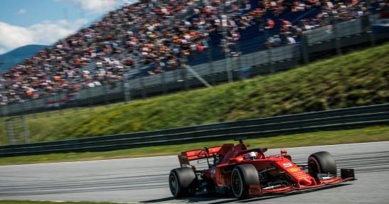 GP Austrii - kwalifikacje: Pole position Leclerka, awaria bolidu Vettela