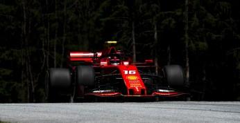 GP Austrii - 2. trening: Leclerc najszybszy, seria wypadków jego...