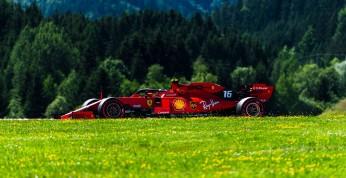 GP Austrii - 3. trening: Leclerc utrzymuje się na czele