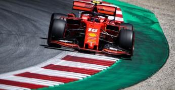 GP Austrii - kwalifikacje: Pole position Leclerka, awaria bolidu...