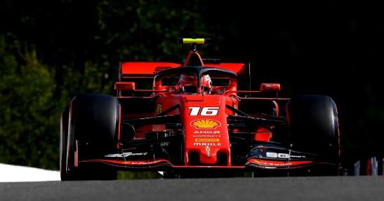 GP Belgii - wyścig: Pierwszy raz Leclerka