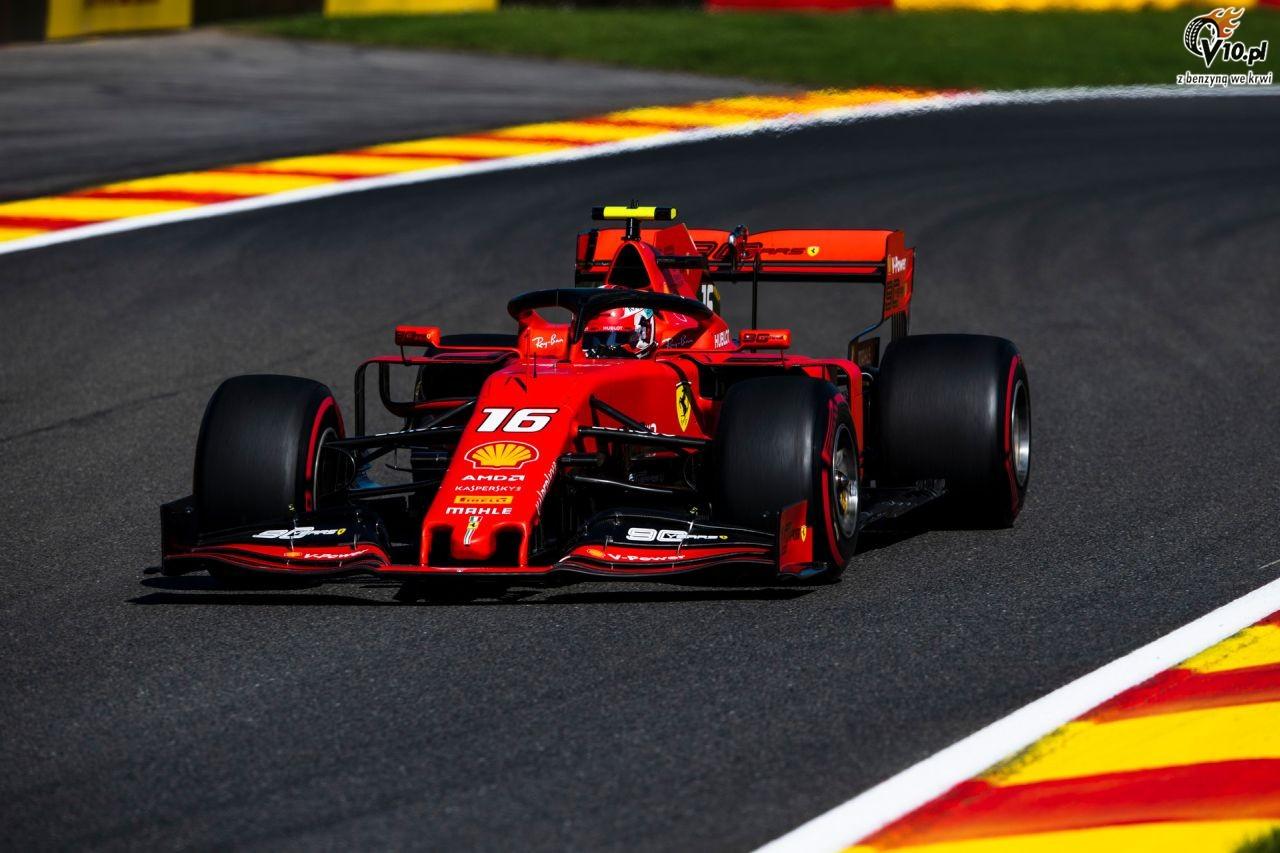 Spa - 2. trening: Kierowcy Ferrari dalej dyktuj� tempo
