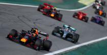 GP Brazylii - wyścig: Verstappen nie dał się Hamiltonowi