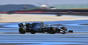 GP Francji - 3. trening: Bottas z minimalną przewagą
