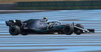 GP Abu Zabi - 1. trening: Bottas dyktuje tempo, wypadek Vettela