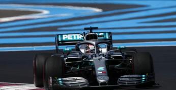 GP Francji - kwalifikacje: Wygrana Hamiltona, słaba pozycja Vettela