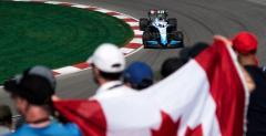 GP Kanady - 2. trening: Dublet Ferrari, wypadki Hamiltona i Verstappena