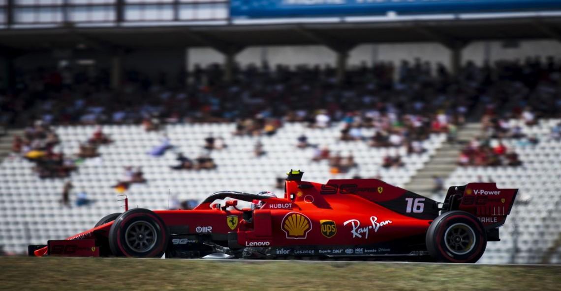 GP Niemiec - 3. trening: Leclerc dalej najszybszy
