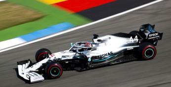 GP Niemiec - kwalifikacje: Zwycięstwo Hamiltona, katastrofa Ferrari