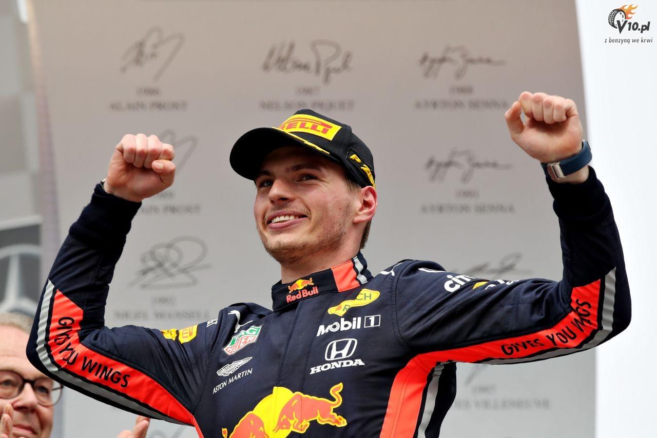 GP Niemiec - wy�cig: Verstappen wygrywa w ogromnym zamieszaniu, Kubica blisko punkt�w