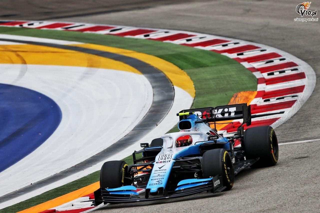 GP Singapuru - 2. trening: Hamilton wychodzi na prowadzenie