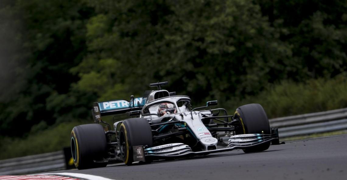 GP Węgier - 3. trening: Hamilton z minimalną przewagą