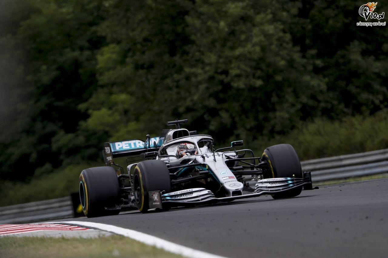 GP W�gier - 3. trening: Hamilton z minimaln� przewag�