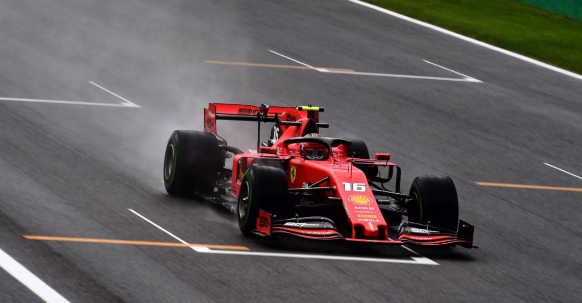 GP Włoch - 1. trening: Kierowcy mierzyli się z deszczem na Monzy. Najszybszy wciąż Leclerc