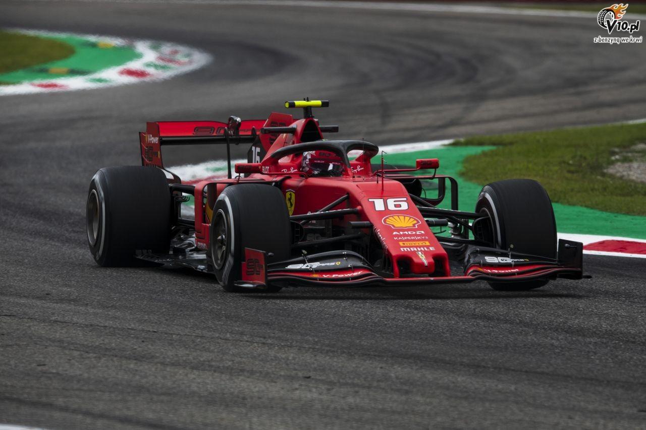 GP W�och - kwalifikacje: Leclerc zdobywa pole position w kuriozalnych okoliczno�ciach