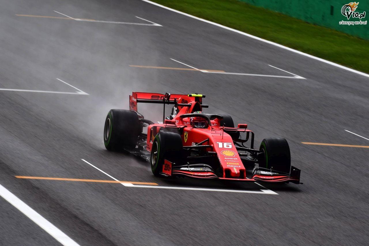 GP W�och - 1. trening: Kierowcy mierzyli si� z deszczem na Monzy. Najszybszy wci�� Leclerc