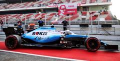 Kubica przejechał 48 okrążeń nowym bolidem Williamsa