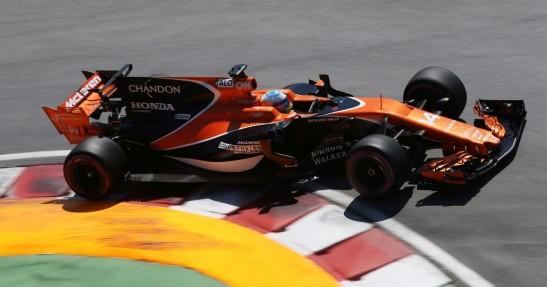 Fernando Alonso w bolidzie F1