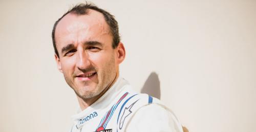 Kubica poprowadzi nowy bolid Williamsa już jutro - przed Strollem i Sirotkinem
